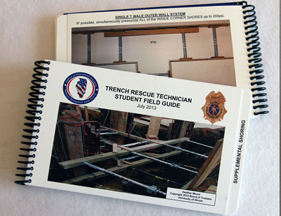 trench rescue tech book image